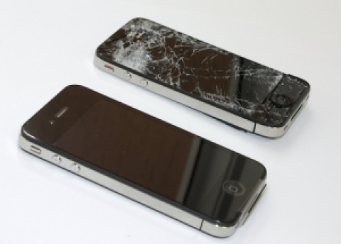 Wymiana szybki Iphone 5s Warszawa