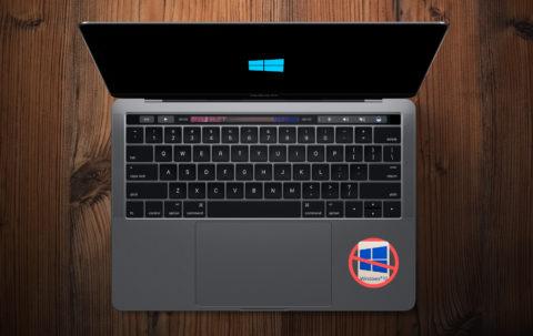 Dlaczego nie warto instalować Windows'a na nowym MacBooku Pro?