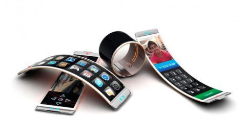 Apple wymyślił urządzenie mobilne z elastycznym, składanym ekranem.