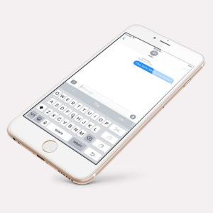 W iPhone'ach są ukryte jednoręczne klawiatury