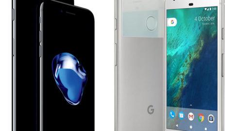 Fani Androida podali 25 powodów, dlaczego Google Pixel XL jest lepszy od iPhone'a 7 Plus.