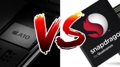 Procesor Snapdragon 835 wyprzedził pod względem wydajności  A10 Fusion od Apple'a, uzyskując w benchmarku AnTuTu rekordowe 181 000 punktów!