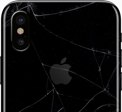 iphone x wymiana tylnej klapki
