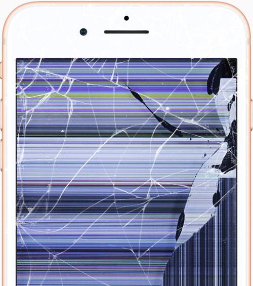 wymiana ekranu iphone 8